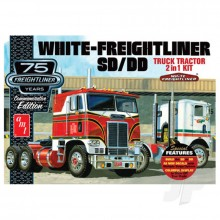 1:25 White Freightliner 2-in-1 SC/DD Cabover Tractor (75th Anniversary)
