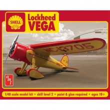 Plastic Kit AMT 1:48 scale Shell Oil Lockheed Vega 950