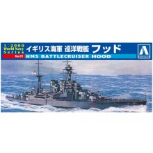 1/2000th MINI BATTLESHIP KIT HMS HOOD