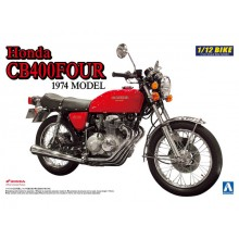 AOSHIMA  1/12 Honda CB400Four 1974 model kit