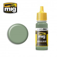 Ammo Mig Jimenez Acrylic 17ml Paint US APC INTERIOR GREEN