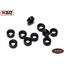2mm Black Steel Spacer with M3 Hole 10 Suspension Links RC4WD RC Washer