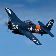 Arrows Hobby F8F Bearcat PNP with Retracts (1100mm) - SMALL DAMAGE TO WINGTIP REDUCED PRICE