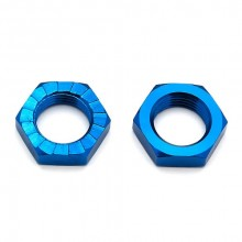 ASSOCIATED RC8B3/3.1 WHEEL NUTS 17MM BLUE