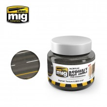 Ammo 250ml Acrylic Asphalt Texture Ground # 2107