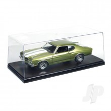 Plastic Display Case w/ Backdrop Included (No remailer)