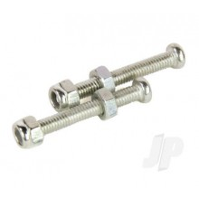 Main Wheel Axle Bolts and Nuts: Crusader II