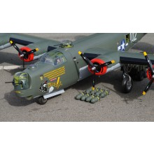 VQ Models - B-24 Liberator - 32 IC size or similar engine or Boost 40 EP