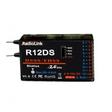 RadioLink R12DS 12 Channel SBUS Receiver. AT9/AT10