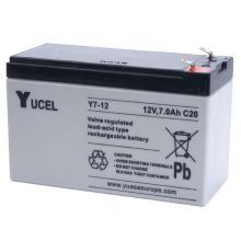 Yuasa 12volt 7.0Ah Sealed Lead Acid Battery