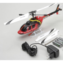 Nine Eagle Solo Pro Bell 206 FTR(Red) Euro - SPECIAL OFFER (Batteries and Radio Required)