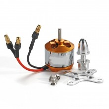 Brushless Motor2212/13T 1000KV with Mount Adapter and Plugs