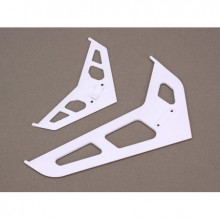 Blade 450 Stabiliser Fin Set White
