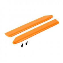 Blade 130X Orange Hi-Performance Main Rotor Blade Set