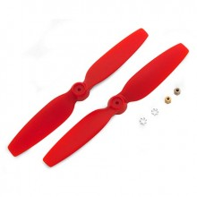 200 QX Red Propellers (2)