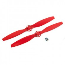 Red 350QX Propeller Set (Clockwise & Counter Clockwise Rotation) (2)