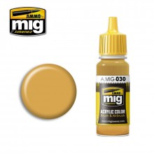 Ammo Mig Jimenez Acrylic 17ml Paint SAND YELLOW