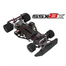 CORALLY SSX8X CAR KIT CHASSISKIT ONLY NO ELEC /BODY/TIRES
