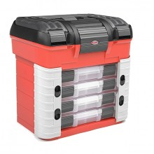 CORALLY PIT CASE 4 ASSORTMENTBOX DRAWERS UNIVERSAL PRECUT F
