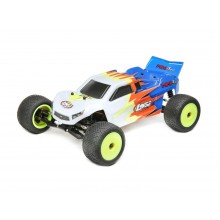 Losi 1:18 2 Wheel Drive Mini-T 2.0 Ready To Run - Blue/White