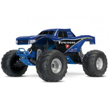 BIGFOOT 1/10 Monster Truck XL-5 (TQ/8.4V/DC Chg) - Blue (Fir