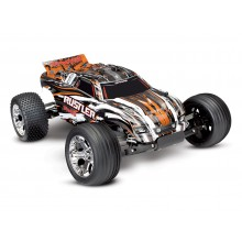 Rustler XL-5 (TQ/8.4V/DC Chg) - Orange