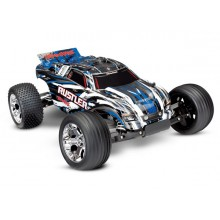 Rustler XL-5 2WD (TQ/No Batt or Chg) - Blue