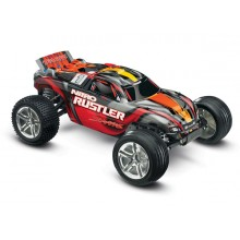 Nitro Rustler 2.5 TSM 1/10 2WD (TQ/EZ Start) - Red