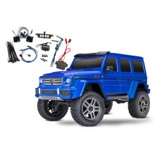 TRX-4 Crawler Mercedes G500 (Tqi) Blue w/Light set