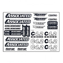 CENTRO C4.2 LOGO DECAL SHEET