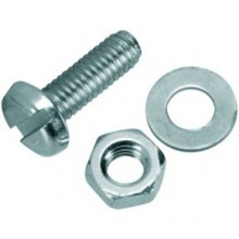 Expo M4 x 12 Pan Head Screws Nuts and Washers