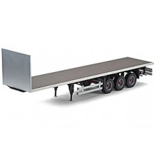 3 AXLE FLAT BED TRAILER