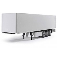 SEMI TRAILER 3 AXLES WHITE
