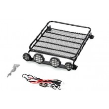Roof Rack With 4 x Lights Large