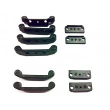 CARISMA R14/GT14 HINGE PIN MOUNTS (WIDE)