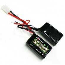 CARISMA GT14B 7.4V 2000MAH LIPO SADDLE BATTERY