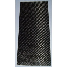 Carbon Fibre sheet 0.4mm thick glossy on one side 150mm x 340mm