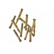 2mm Connectors Gold 10pr - SKU 618