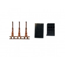 JR Type Sockets + pins 5 sets - SKU 342