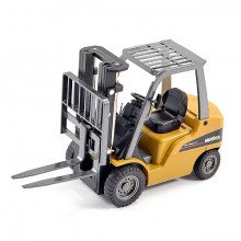 HUINA 1/50 DIECAST FORK LIFT TRUCK STATIC MODEL