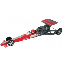 Estes Dragster Rocket Car Red