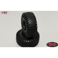 Interco Irok 1.55 inch Tyres (2) RC4WD with Foams Nice wide soft tyre