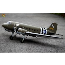 VQ Douglas DC-3 (US Army) 70.8 Inch Wingspan (EP/GP) ARF FOR PRE ORDER ONLY