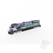 1:87 EMD SD70ACe-T4 Locomotive - Blue and Green