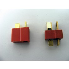 Deans Ultra Connectors with 5 mm heat shrink 5 pairs