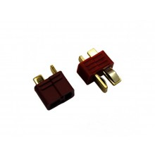 T Plug (Deans Type Connector 40A) - 1pair - SKU 2662