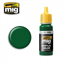 Ammo Mig Jimenez Acrylic 17ml Paint DEEP GREEN