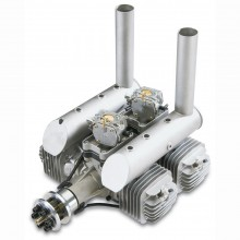 DLE-222 Twin Cylinder Two-Stroke Petrol Engine