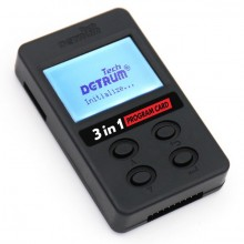DYNAM DETRUM 3-IN-1 PROGRAM CARD FOR STABILIZER AND TOMCAT (ESC PROGRAM/VOLT CHECKING)