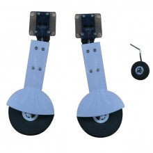 DYNAM SPITFIRE LANDING GEAR SET - Now includes retracts